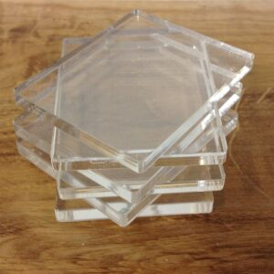 Acrylic Stamping Blocks 5mm (6 pack)-0