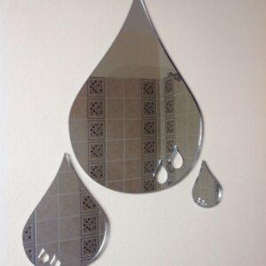 Acrylic Rain/Teardrop Mirror-0