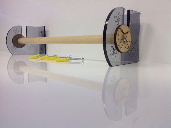 Acrylic Ribbon Rack,Tidy,Storage,Space Saver-0