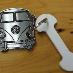 VW SPLITSCREEN CAMPER KEYRING-0